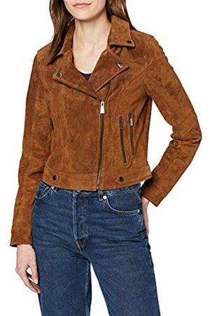 Vero Moda Women's Vmroycesalon Short Suede Jacket Noos Leather