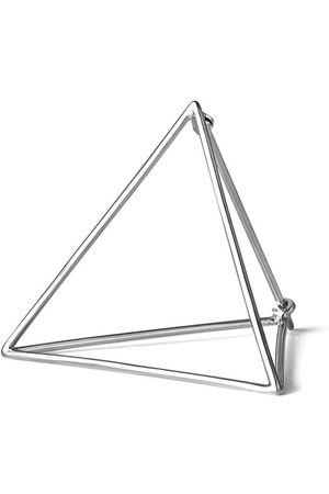 SHIHARA Women Earrings - Triangle Earring 30 - Metallic