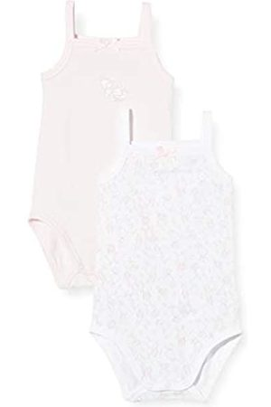 chicco Baby Girls' Set 2 Body Con Spallina Stretta Bodysuit