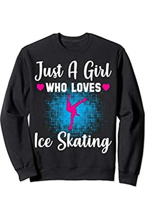 Love Ice Skating Cotton Sweater for Teen