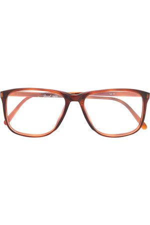 Persol 1990s tortoiseshell square reading glasses
