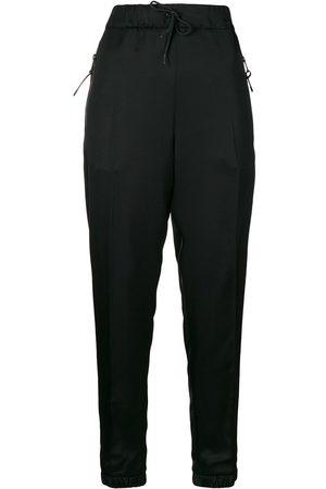 Prada Women Slim & Skinny Trousers - Drawstring slim-fit trousers