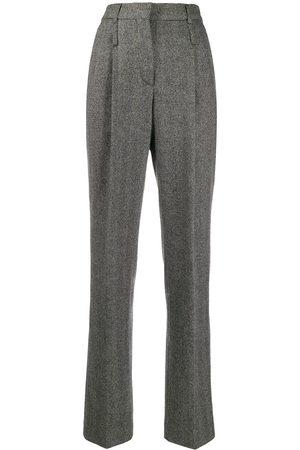 Moschino 1990s tailored herringbone trousers