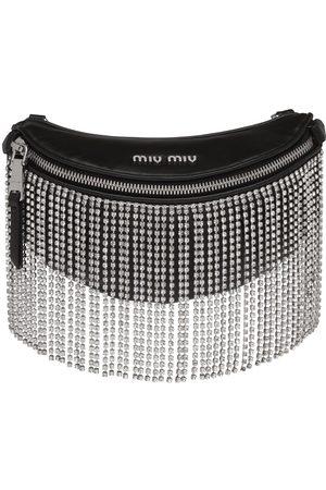 Miu Miu Embellished fringes belt bag
