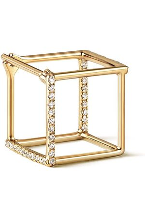 SHIHARA Diamond Square Earring 10 (02) - Metallic