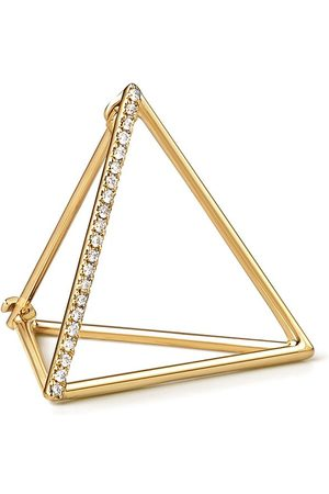 SHIHARA Women Earrings - Diamond Triangle Earring 20 (01) - Metallic