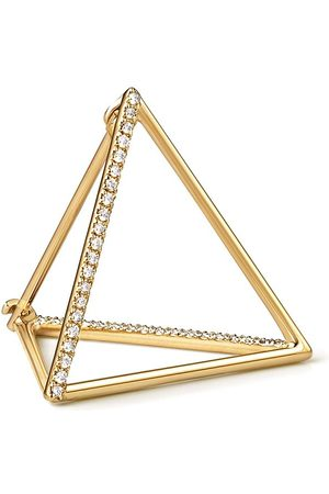 SHIHARA Diamond Triangle Earring 20 (02) - Metallic