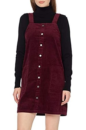 New Look Women's Cord Button Through Pinny Dress