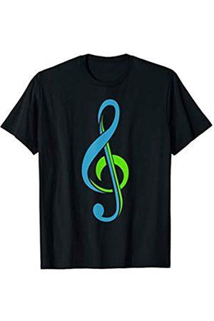 My Shirt Hub Piano Guitarist Bass Musician Gift Music Lover Clef Note T-Shirt