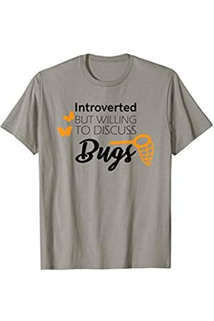 Shirt funny gift Introverted But Willing To Discuss Bug Collector Gifts Shirt