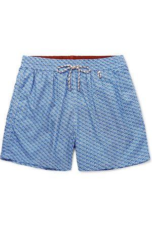 Loro Piana Mid-Length Printed Swim Shorts