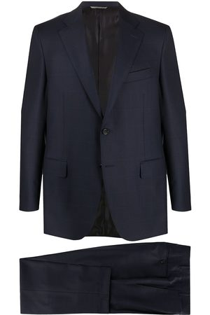 CANALI Windowpane check suit