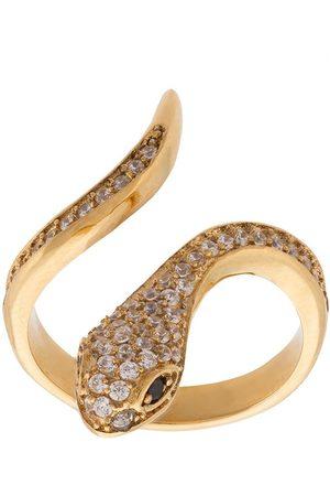 Nialaya Women Rings - Skyfall snake ring - Metallic