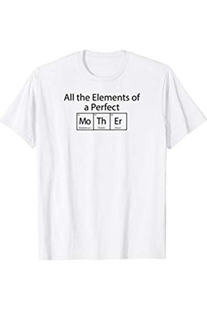 we_are_tomer All the Elements of a Perfect Mother Periodic Table T-Shirt