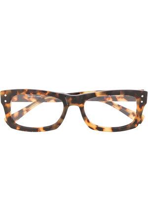 EPOS Tortoiseshell-effect rectangular-frame glasses