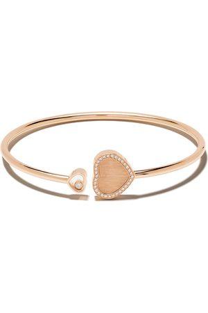Chopard X 007 18kt rose Happy Hearts - Golden Hearts diamond bangle