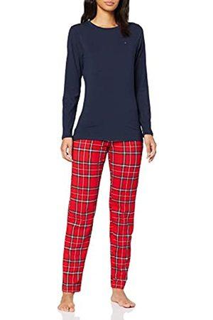 Tommy Hilfiger Women's Jersey Set Ls Print Pyjama Bottoms