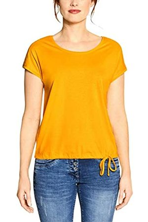 CECIL Women's 314828 Solid Smock Shoulder T-Shirt