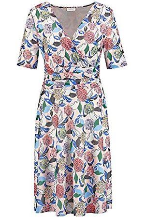Gerry Weber Women's 180915-35126 Dress, (Rosa/Ozean/Sun Druck 3137)