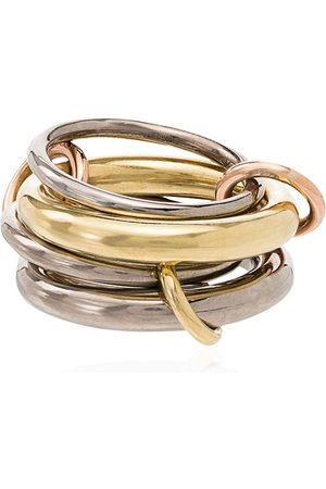 SPINELLI KILCOLLIN 18kt yellow gold Cici four-link ring - METALLIC