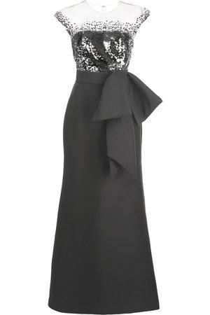 Sachin & Babi Women Party Dresses - Elisa sequin-bodice gown