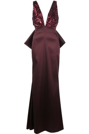 Sachin & Babi Topanga sequin bodice gown