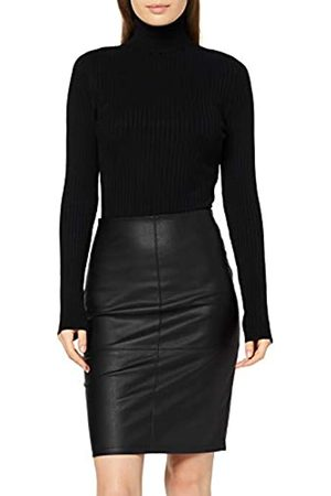 Only Women's onlcelina Faux Leather Midi Skirt OTW