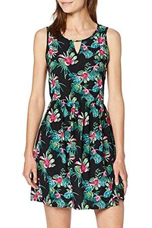 Vero Moda Women's Vmsimply Easy Sl Short Dress, ( AOP: Jenny- )