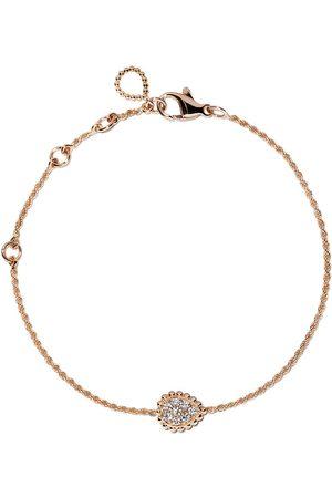 Boucheron 18kt rose gold Serpent Bohème diamond XS motif bracelet - PG