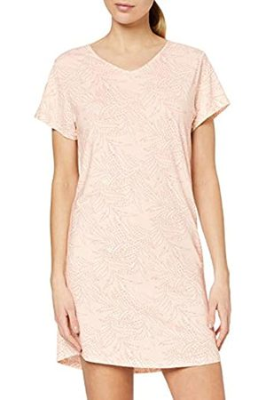Skiny Women's Damen Nachthemd Kurz Nature Love Sleep Nightie
