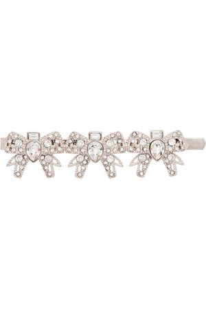 Miu Miu Hair clip with crystals - Metallic