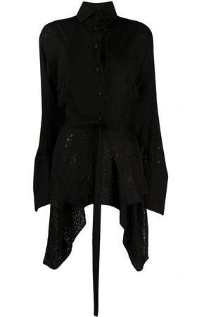 Gianfranco Ferré 1990s cut-out blouse