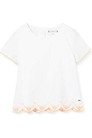 Tommy Hilfiger Girl's EID Broderie Anglaise TOP S/S T-Shirt
