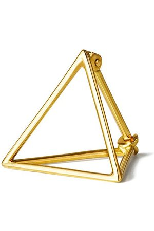SHIHARA Triangle Earring 15 - Metallic
