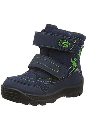 Richter Kinderschuhe Richter Kids Shoes Boys Freestyle Snow Boots, (atlantic/apple 7201)