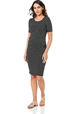 Ripe Maternity Women's Mia Short Sleeve Nursing Dress Business Casual