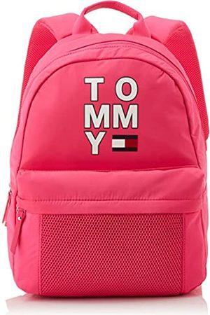 Tommy Hilfiger Unisex-Child Th Kids Tommy Backpack Bag ( Glo)