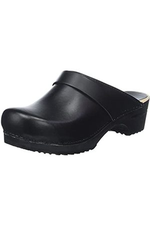 Sanita Unisex Adults' Wood Rita Open Clogs, ( 2)