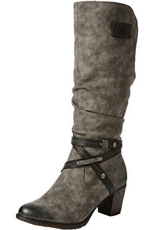 Rieker Women's 96054 Ankle Boots, (Smoke/ /45)