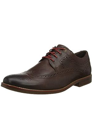 Rockport Men's Style Purpose 3 Wingtip Brogues, ( Goat Grain 001)