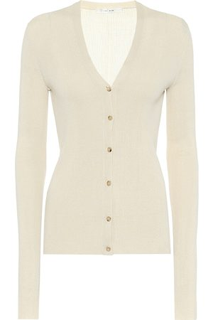 The Row Exclusive to Mytheresa – Linny silk cardigan