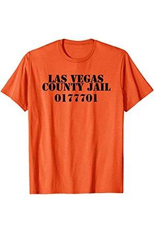 Las Vegas Souvenir Co. Las Vegas County Jail Inmate Novelty Souvenir Shirt