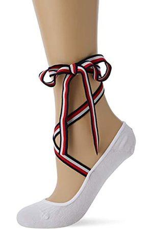 Tommy Hilfiger Women's TH Footie WRAP 1P Ankle Socks