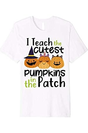 Halloween party 2018 T-Shirts I Teach The Cutest Pumpkins In The Patch Halloween Shirt