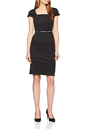 Dorothy Perkins Women's Square Neck Belted Pencil Dress