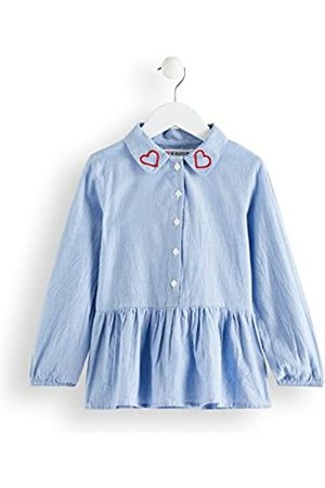 RED WAGON Amazon Brand - Girl's Embroidered Collar Tunic Shirt, 4 Years