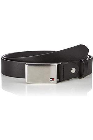 Tommy Hilfiger Men's TH Plaque Belt 3.5 ADJ
