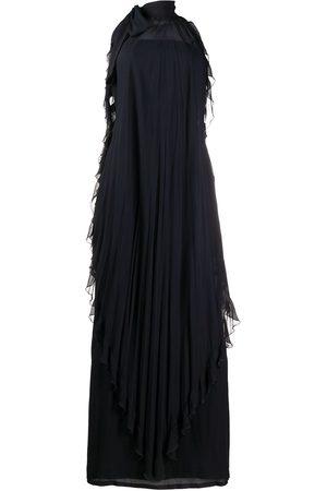 VALENTINO Women Halterneck Dresses - 1970s halterneck ruffle dress