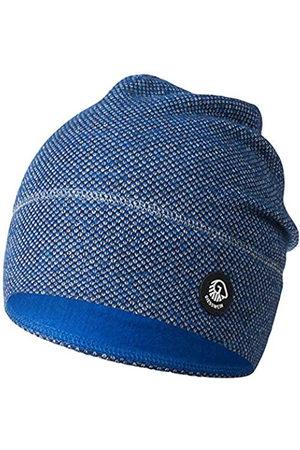 Giesswein Merino Wool Beanie Hohes EIS Dark ONE Size - Unisex Knitted hat Made of Merino Wool for Women & Men, Breathable, Temperature regulating, Beanie for Men & Women
