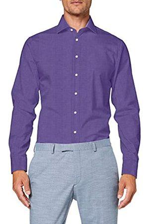 Seidensticker Men's Einfarbiges, Schickes Hemd Mit Extra Tragekomfort Und Kent-Kragen – Shaped Fit – Langarm Formal Shirt